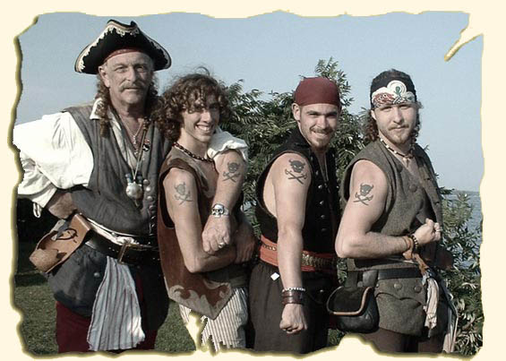 The Brigands: Pirate Music and Black Powder Cannons: Home